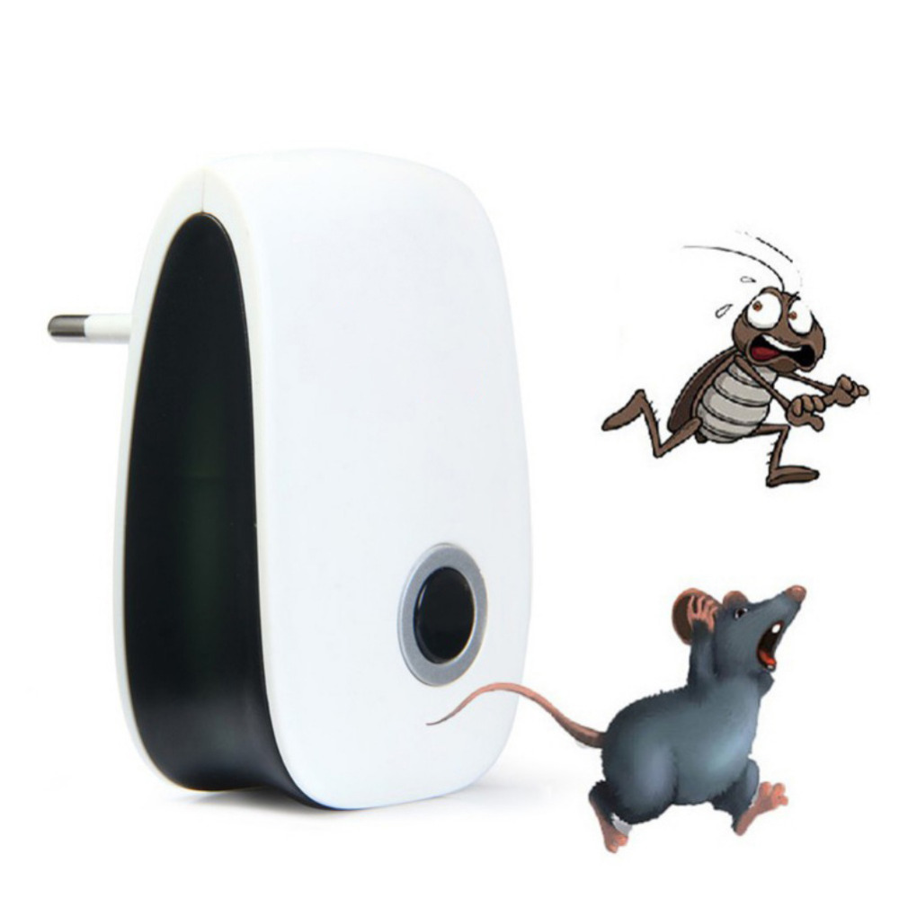 Mosquito Killer Electronic Repeller Rat Ultrasonic Insect Repellent Mouse Anti Rodent Bug EU US Plug