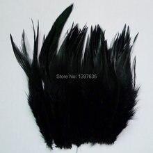 50 pçs preto galo penas 10-15 cm faisão pena de galinha para diy artesanato chapéu casa máscara dreamcatcher jóias acessórios