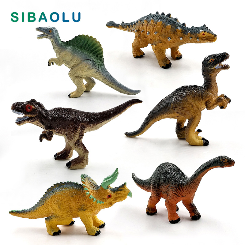 MagiDeal Realistic Jurassic Dinosaur Toy Simulation PVC Triceratops Egg /& Shell Dinosaur Model Action Figure Figurine Kids Educational Toy Gift Collectibles