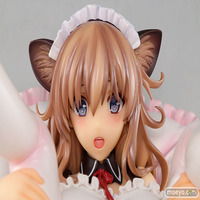 japan Anime Illustration By Misaki Kurehito Cat Ear Maid Soft chest Ver Model Action Figure Cartoon Gift Collection toys Doll