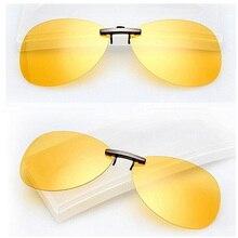 Новинка, мужские и женские поляризованные солнцезащитные очки с клипсами, для вождения, ночного видения, анти-UVA, анти-зажимы в виде солнцезащитных очков, оборудование для верховой езды