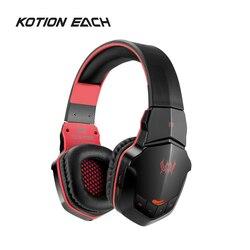 B3505 bezprzewodowe słuchawki gamingowe Bluetooth 4.1 zestaw słuchawkowy Stereo słuchawki z mikrofonem dla graczy telefony PC Laptop odtwarzacz muzyczny