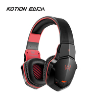 KOTION EACH B3505 Wireless Stereo Gaming Headphones Bluetooth 4.1 Headset Volume Control Music Game Headset with Mircophone