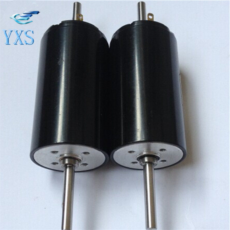 1 PCS Factory Direct Miniature DC Motor DC Hollow Cup Motor 22SYK42 Double Out Shaft