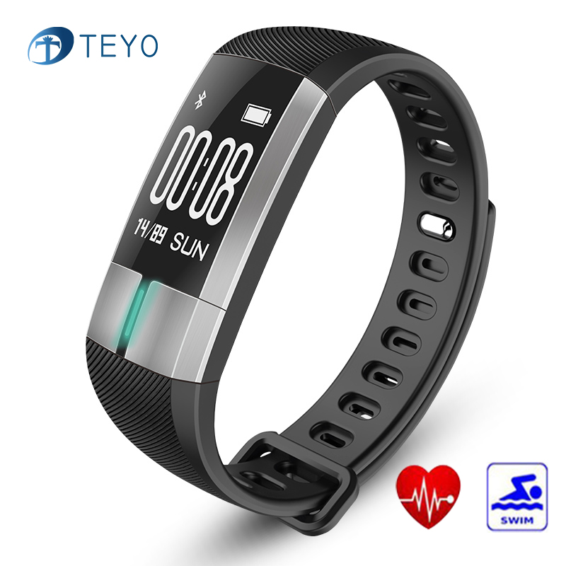 Teyo Smart Bracelet G20 Heart Rate Monitor Blood Pressure Fitness Bracelet  Smart Watch Waterproof Wrist Band For Android and IOS 99dc606ce4bd