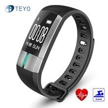 Teyo умный Браслет G20Heart скорость Мониторы Приборы для измерения артериального давления Водонепроницаемый шагомер Pulsera inteligente запястье для Android и IOS