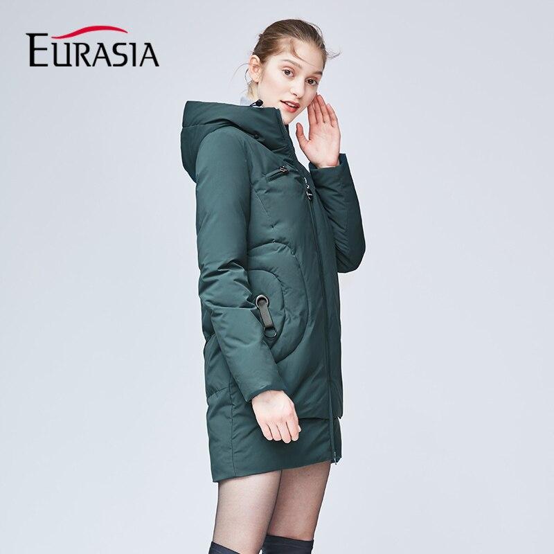 dark Manteaux Parka Yd1867 gray Femmes Eurasie Vestes 2018 Green Capot red Au Chaud Femelle Garder Nouvelle Gris Black Vêtements Marque Épais Hiver Dame Outwear 8wW1r68qU