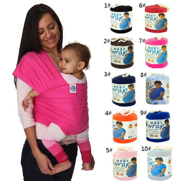 2016 Hipseat New Elastic Cotton Newborn Two Backpacks Solid Color Baby Carrier Wrap Canguru Sling Kangaroo For 0-3 Years Babies