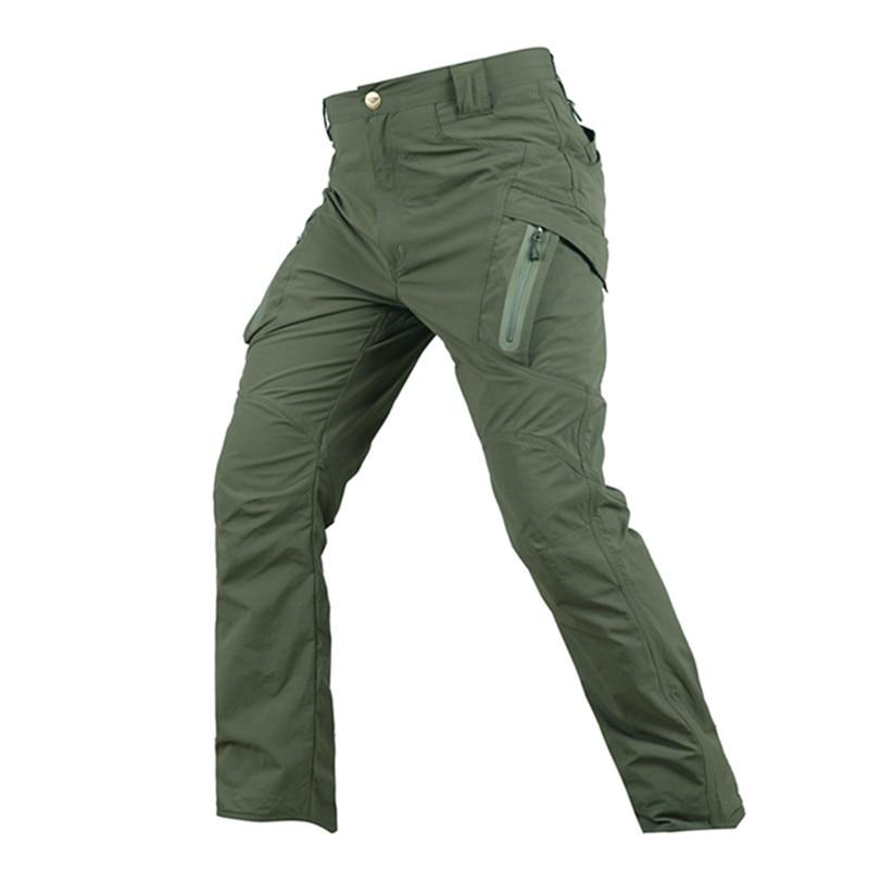 MSMIRROR Summer Tactical Camouflage Army Pants Men Waterproof Combat Military Pants