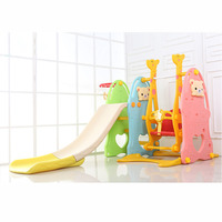 1 8Y Children's Indoor Swing Combination Set Baby Games Slide Kids Play swing slides thickened Family Amusement park device NEW