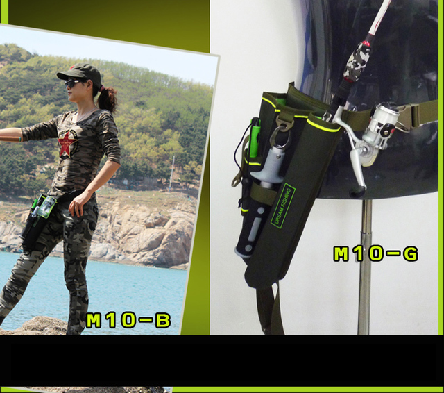 Best Price Portable Waist Fishing Bags fishing tackle bag Waterproof Nylon Large Capacity Multifunctional 33x19x16cm fishing bag B292