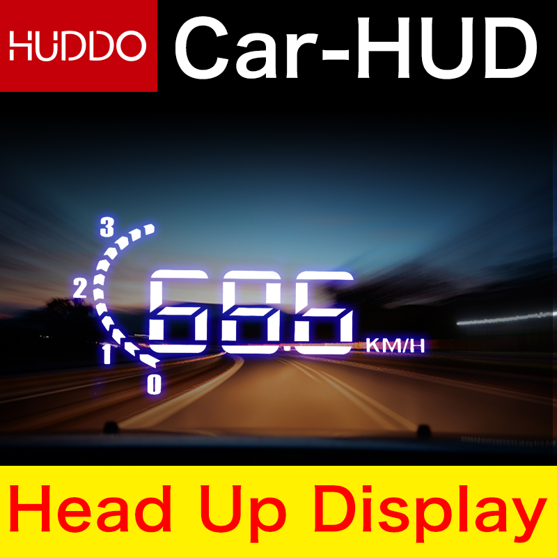 H301 3 2 HD Universal Auto Car HUD Head Up Display Overspeed Warning Windshield Project Speed