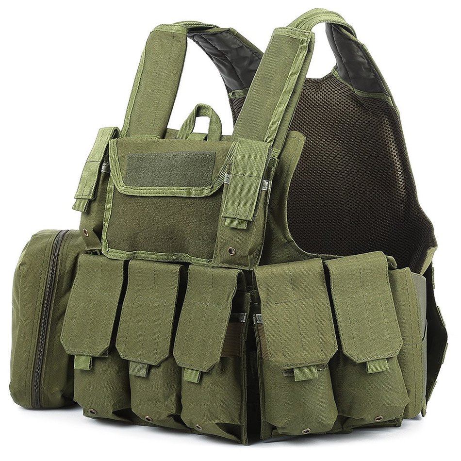Military chest rig Tactical Vest Plate carrier Assault Airsoft SAPI Multicam Army Molle Mag Ammo Rig Paintball body armor plate airsoft adults cs field game skeleton warrior skull paintball mask