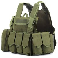 Military chest rig Tactical Vest Plate carrier Assault Airsoft SAPI Multicam Army Molle Mag Ammo Rig Paintball body armor plate