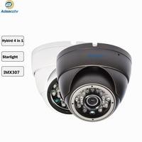 STARVIS SONY IMX307 3.6mm Lens 1080P Hybrid AHD CVI TVI CVBS 4 IN 1 OSD Menu Free Switch CCTV Vadalproof Camera AR MHD2203RL
