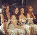 amazing ivory lace bridsmaid dresses robe demoiselle d'honneur 2015 vestidos para damas de honor vestidos de casamento