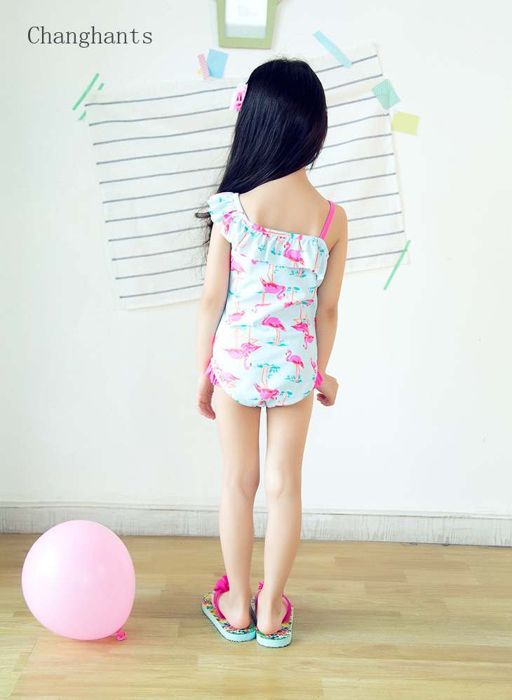 Աղջիկներ լողազգեստ վարդագույն Flamingos- - Սպորտային հագուստ և աքսեսուարներ - Լուսանկար 6