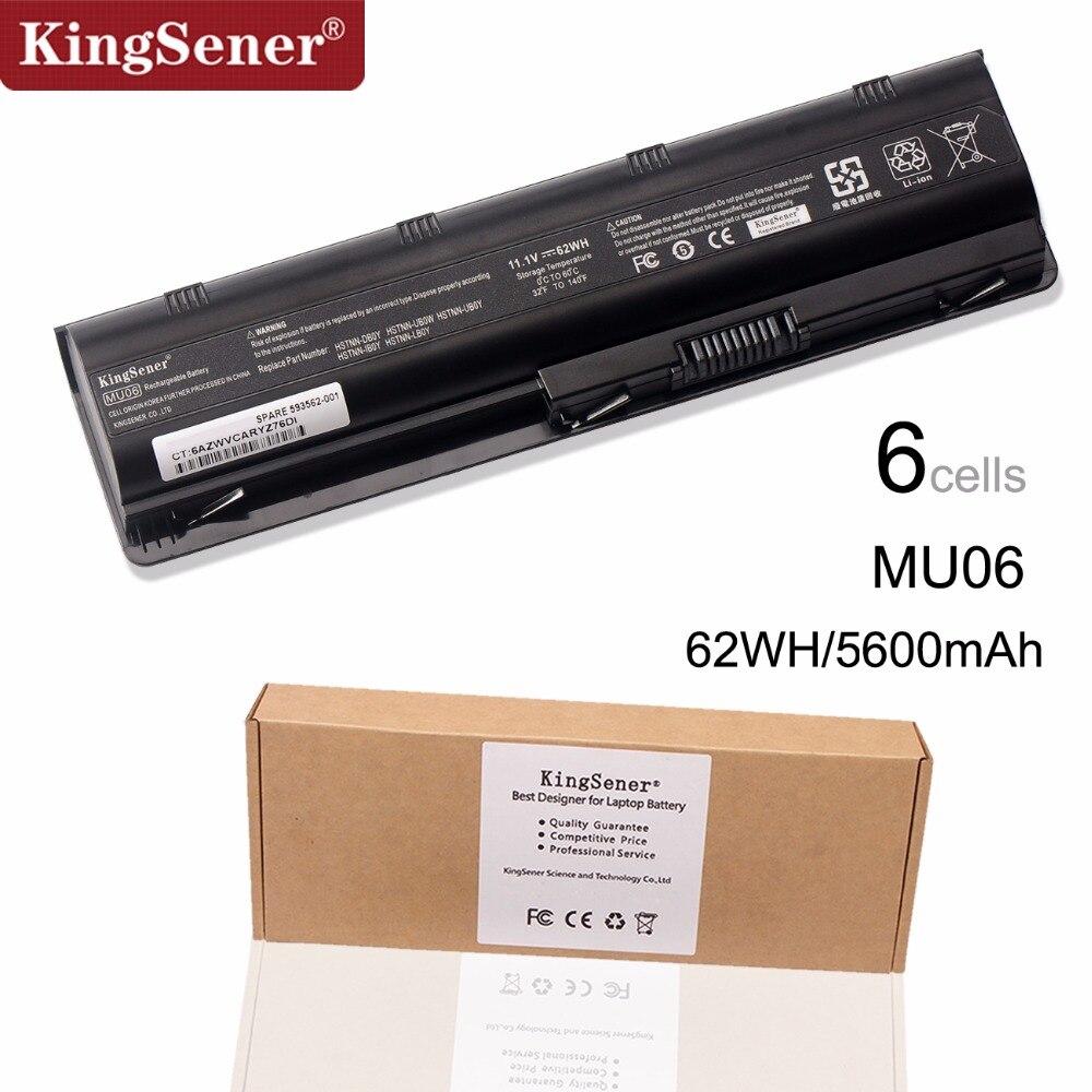 Cellule de la corée Nouvelle Batterie D'ordinateur Portable pour HP Pavilion G4 G6 G7 G32 G42 G56 G62 G72 CQ32 CQ42 CQ43 CQ62 CQ56 CQ72 DM4 MU06 593553-001