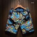 2016 Новый Летний Моды Случайные Мужской Плюс Размер Цветочный Печати Бордшорты Пляжные Шорты Хлопок Белье