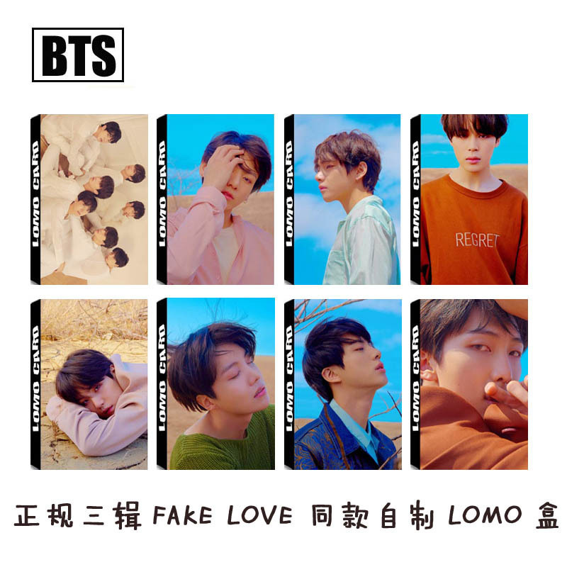 Beads & Jewelry Making Kpop Bts Bangtan Boys Love Yourself Tear 2018 New Album Lomo Cards K-pop Self Made Paper Photo Card Hd Photocard Limpid In Sight