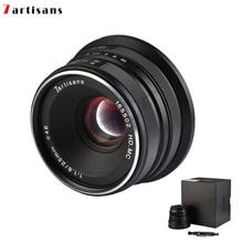 7 ремесленников 25 мм/F1.8 Prime объектив для sony E Mount/Canon EOS-M Mount/Fuji FX Mount/M43 Panasonic Olympus для всех одиночных серий