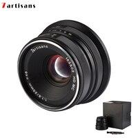 7artisans 25mm / F1.8 Prime Lens for Sony E Mount /Canon EOS M Mount/Fuji FX Mount /M43 Panasonic Olympus to All Single Series