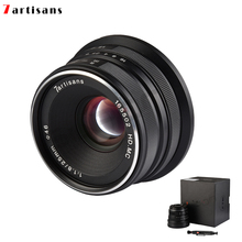 7artisans 25mm / F1.8 Prime Lens for Sony E Mount /Canon EOS-M Mount/Fuji FX /M43 Panasonic Olympus  to All Single Series