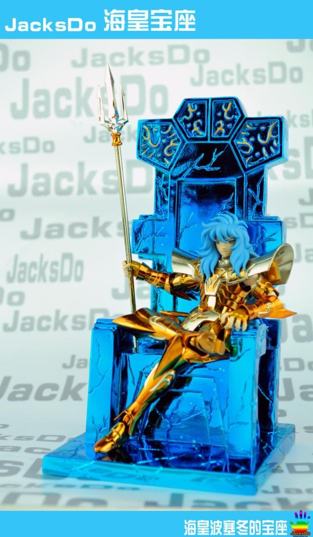MODEL FANS Jacksdo - saint seiya cloth myth poseidon throne free shipping classic jacksdo sacred lands wicked chief of staff evil armies silver saint seiya cloth myth collectable