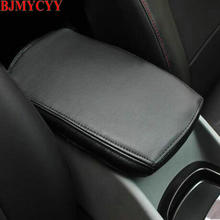 BJMYCYY Car-styling Interior trim for automobile armrest case decorative sleeve Accessories Chevrolet Malibu 2017 2018