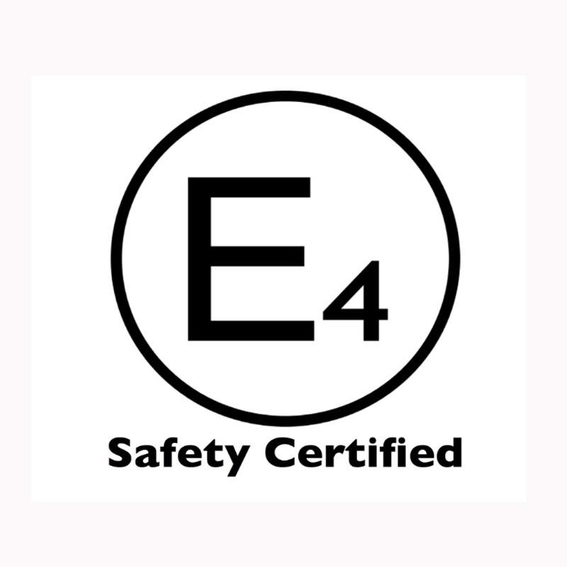 E24 Safe Certification Metal Tongue Width 245mm Car Seat Belt