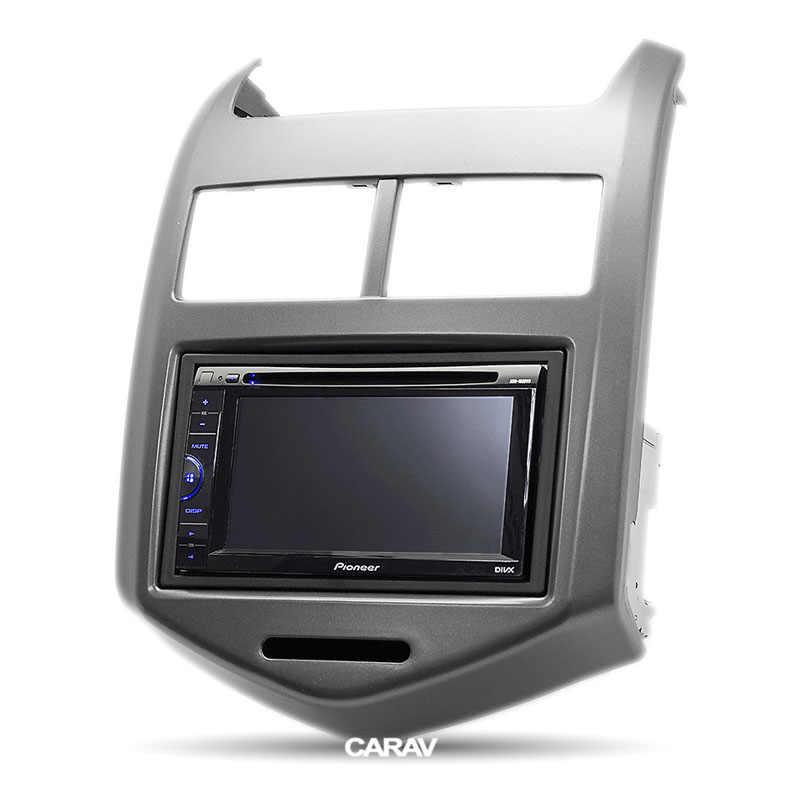 CARAV 11-181Top Quality Radio Fascia for CHEVROLET Aveo, Sonic/HOLDEN  Barina (TM) Stereo Fascia Dash CD Trim Installation Kit