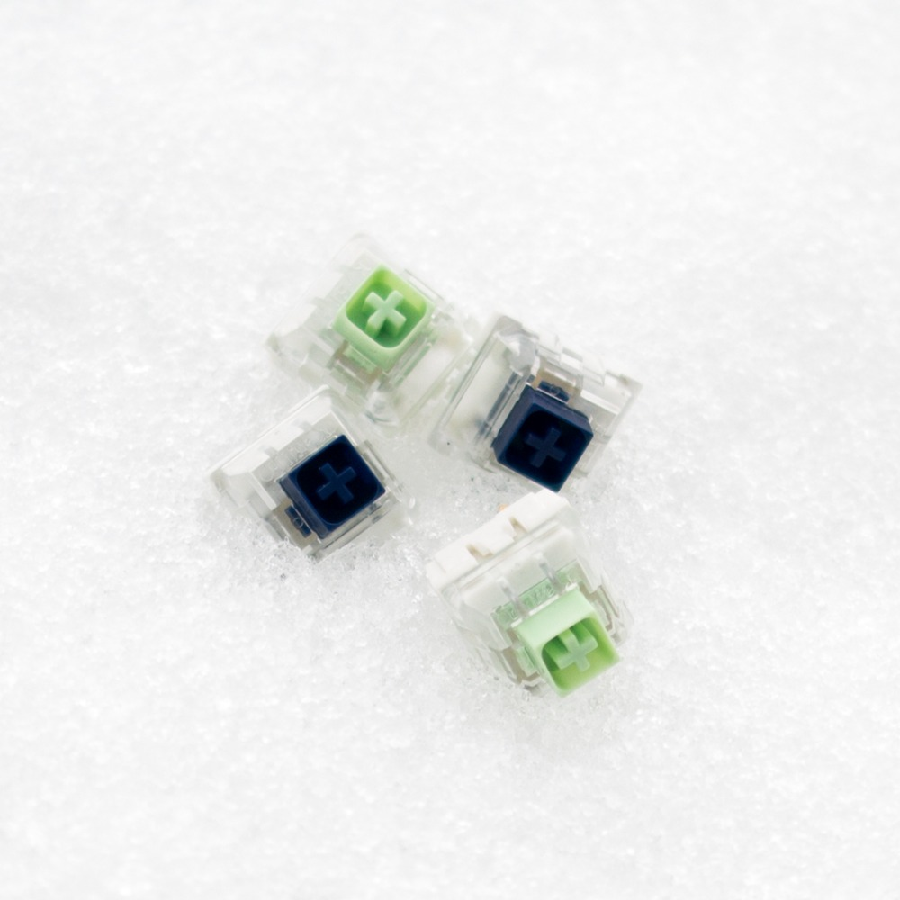 IN STOCK New  NOVELKEYS X KAILH BOX THICK CLICKS NAVY  JADE  Rgb Smd Swithes