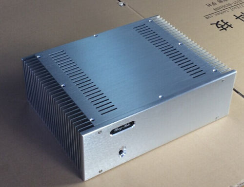 QUEENWAY Audio BZ3612A CNC full aluminum chassis class A power amplifier case 360mm*120mm*275mm 360*120*275mm queenway audio 2215 cnc full aluminum amplifier case amp chassis box 221 5mm150mm 311mm 221 5 150 311mm
