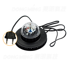 2015 NEW Product 5pcs/lot Mini Rotating RGB Light 48 LEDs Sunflower christmas laser projector LED Stage Light