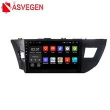 цена на Asvegen Cord Core Car Radio Dvd Player Car PC head Unit GPS Navigation 2 din Car Stereo Multimedia Player For Toyota Levin 2014