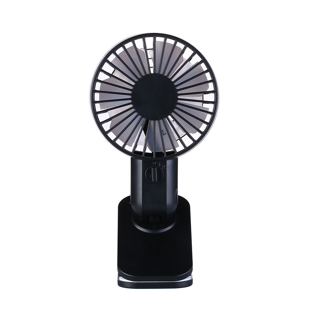 Mini USB Clip Fan Double-blade Design Personal Table Fan USB Powered 360 Degree Rotate Portable Fan for Baby Stroller Home