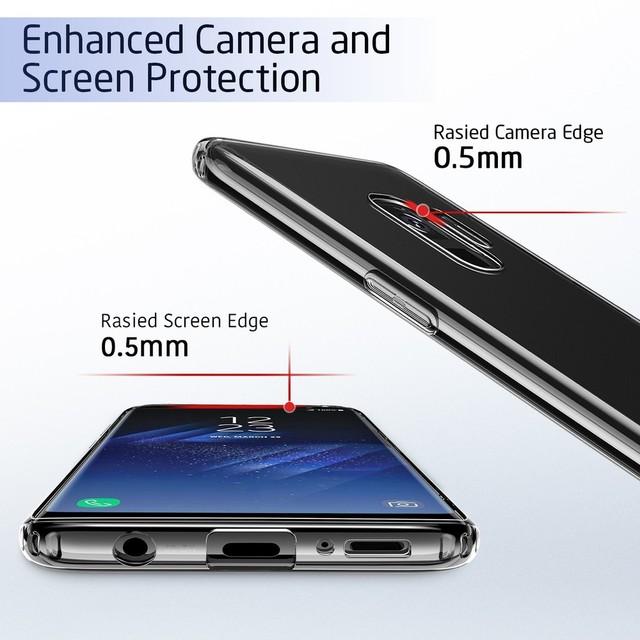 HD Clear Soft TPU Phone Cases – Samsung