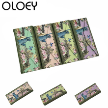 OLOEY 2018 Triangle Folding Sunglasses Handmade Glasses Case  Printing Pattern Custom Reading Box Accessories