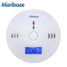 Ev güvenlik 85dB uyarı yüksek hassas LCD fotoelektrik bağımsız CO gaz sensörü karbon monoksit zehirlenmesi Alarm dedektörü