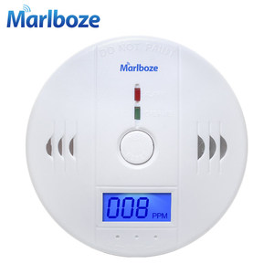 Image 1 - Home Security 85dB Warnung High Sensitive LCD Photoelektrische Unabhängige CO Gas Sensor Kohlenmonoxid vergiftung Alarm Detektor