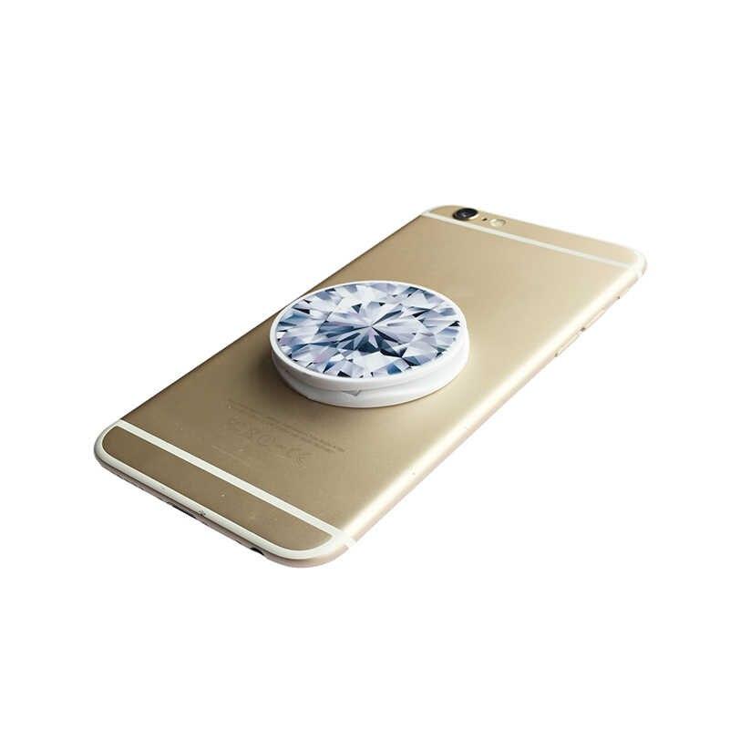 طباعة حامل للهاتف ل فون 11 S 6S حامل آيفون بقبضة الأصابع الهاتف المقبس مرنة سطح المكتب دعم ل فون 8 زائد 5 5S SE X XS 7