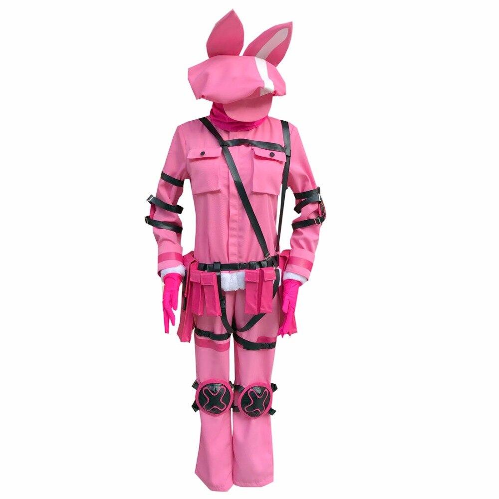 2018 Sword Art Online Alternative GGO Cosplay Gun Gale Online Llenn Cosplay Costume