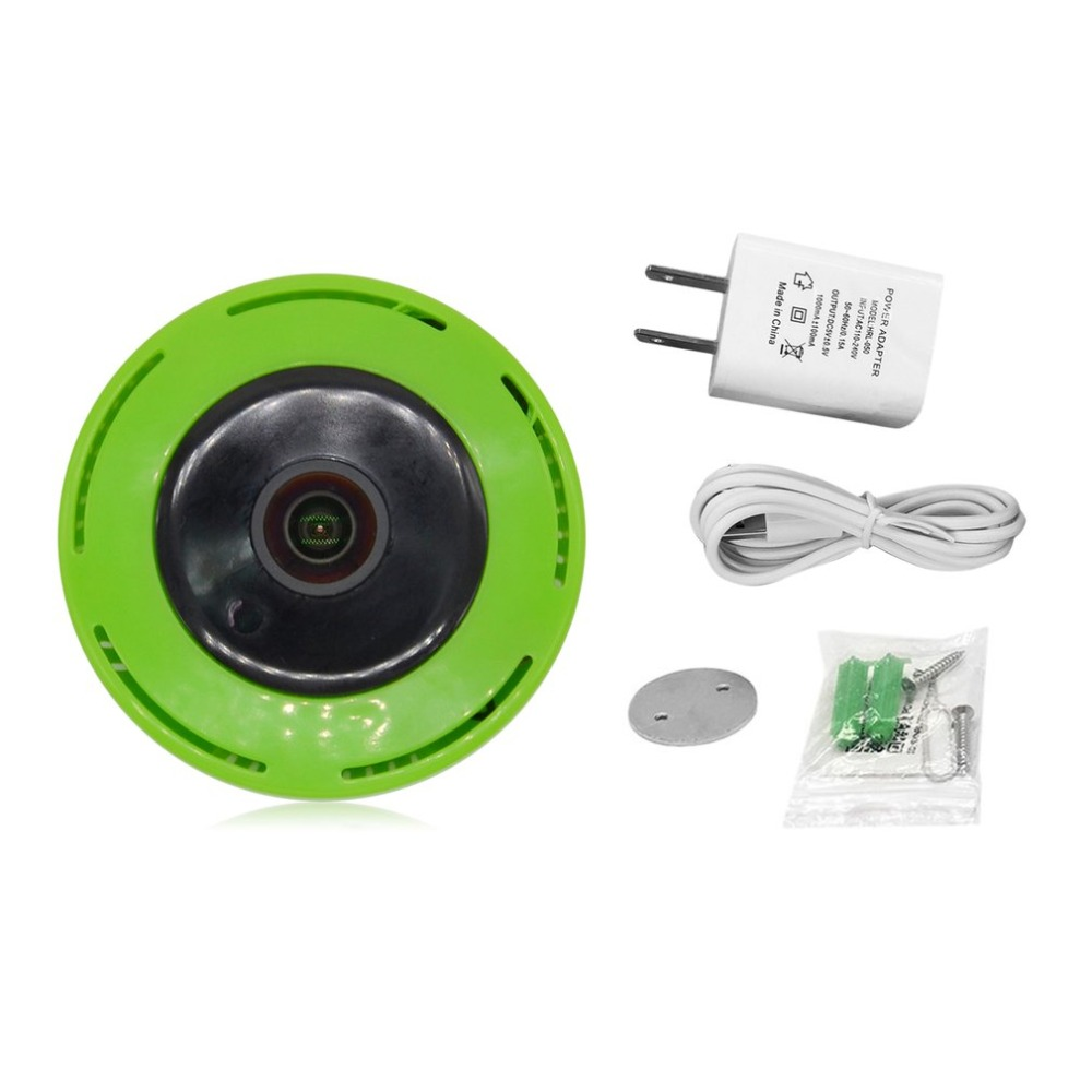 Small Size HD Smart Wireless Monitoring Camera Household WIFI Panoramic Camera Device P2P Network Camera