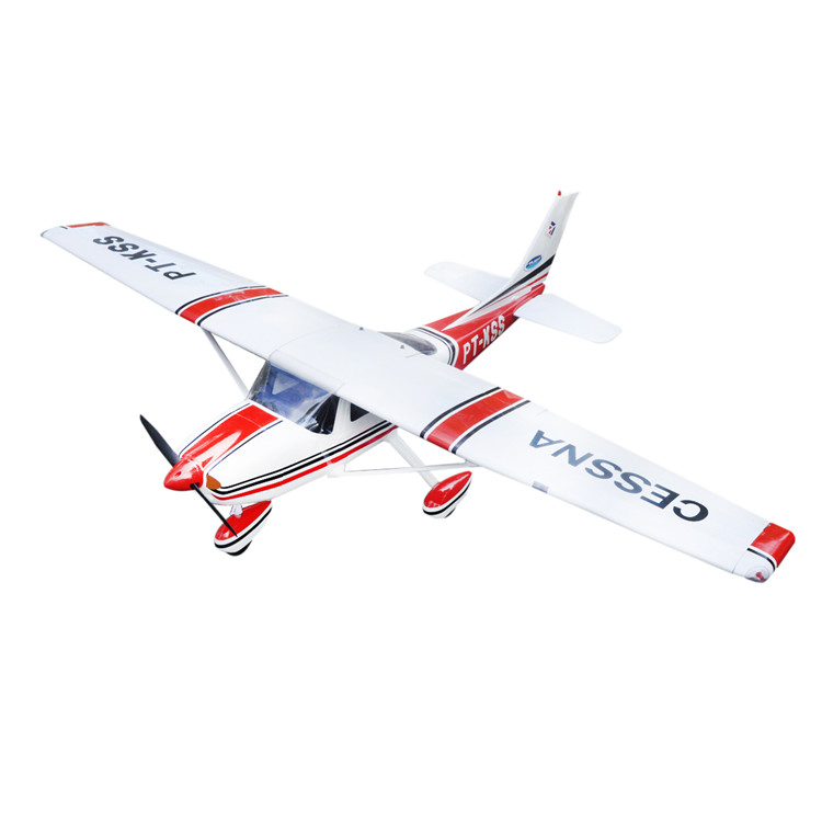 <font><b>RC</b></font> airplane <font><b>Cessna</b></font> <font><b>182</b></font> Red Balsa wood <font><b>plane</b></font> Aircraft ARF image