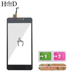 Image 3 - Vidro da tela de toque para oukitel c3 c4 c5 c8 c11 pro c12 painel digitador vidro sensor vidro do telefone móvel adesivo