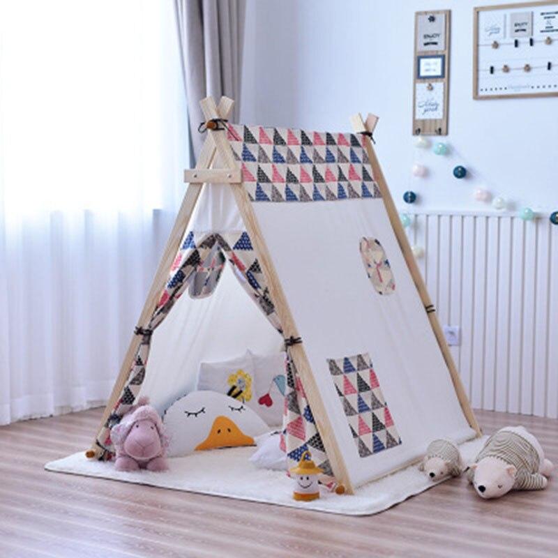 Детская палатка, большой Крытый игровой домик для мальчиков и девочек, игрушечный домик, Игровая палатка, большой раздельный артефакт, игро... - 2