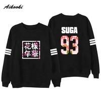 Bangtan Boys Kpop BTS Men Women Unisex Hoodies Sweatshirts Letter Printed In J HOPE 94 SUGA