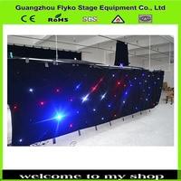 Frete grátis full color baixo preço da alta qualidade lâmpada mais led estrela cortina|led star curtain|star led curtain|free color -