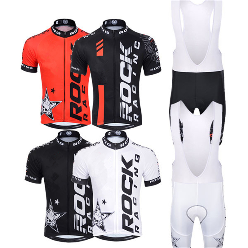 Popular Breathable good Ropa Ciclismo Rock Cycling Jersey Racing Maillot Apparel Biking Short Culot Italy Ink 9D Gel Pad
