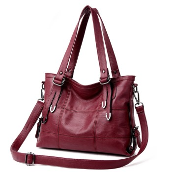 Women PU Leather Bags Handbags Women Famous Brands Women Leather Handbags Women Bolsos Designer Bag Vintage Crossbody Bag 3098